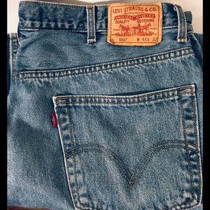550 Levi Men's Jeans